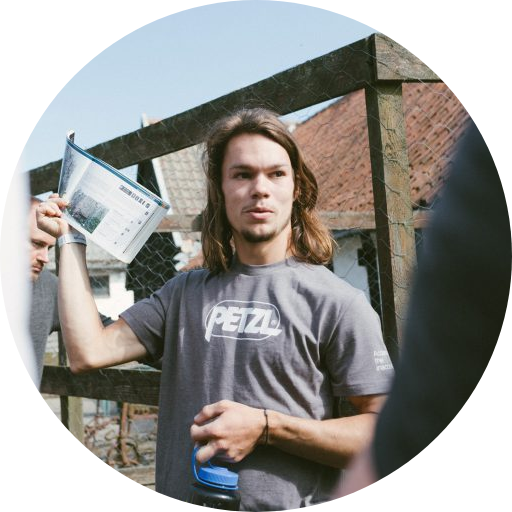 Laust Højmark | Stifter og instruktør ved Klatring Bornholm